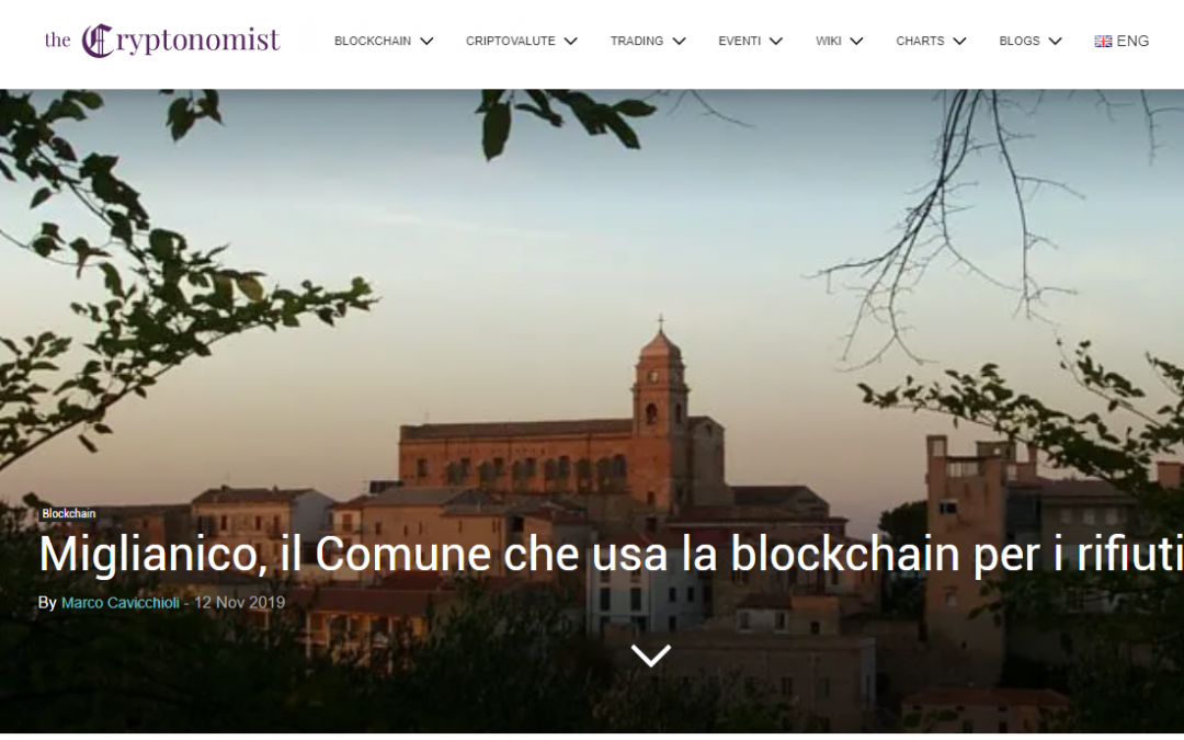 BLOCKCHAIN A MIGLIANICO – The Cryptonomist